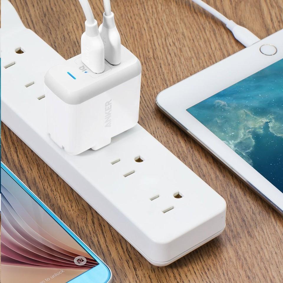 Anker PowerPort2-兩孔USB充電器
