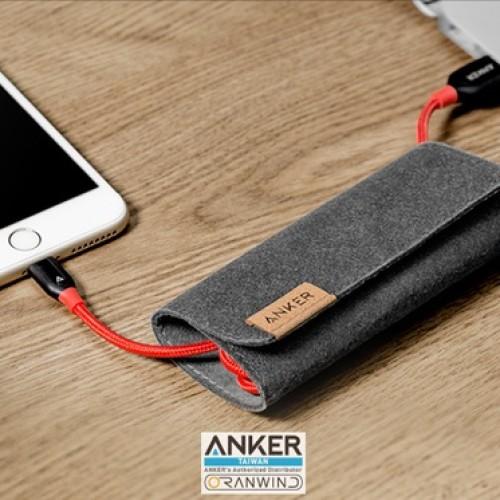 裝甲強度蘋果專用充電線--Anker PowerLine+Lightning USB充電線3ft / 0.9m