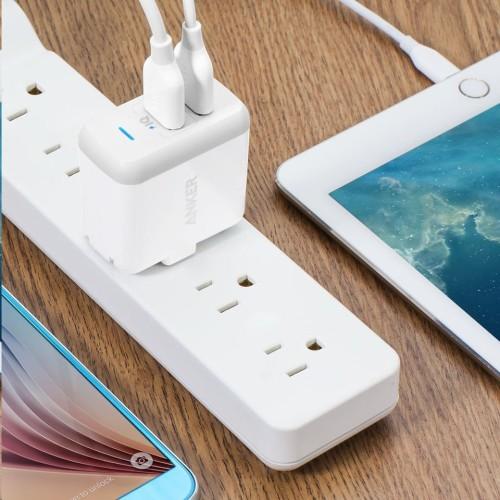 Anker PowerPort2 智慧型兩孔USB充電器