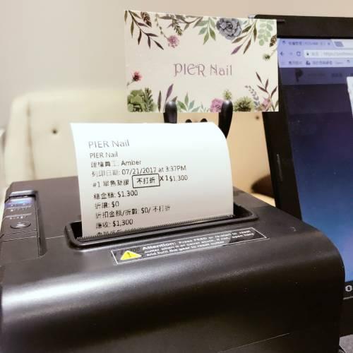 POSHME專用熱感應機-有線版本(USB/LAN) 適用工作室使用桌機-本檔限量六台